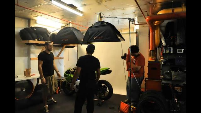 The Motorcycle Shoot...