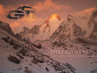 [GII Winter Expedition | Dispatch #3 | The Cold Welcome]