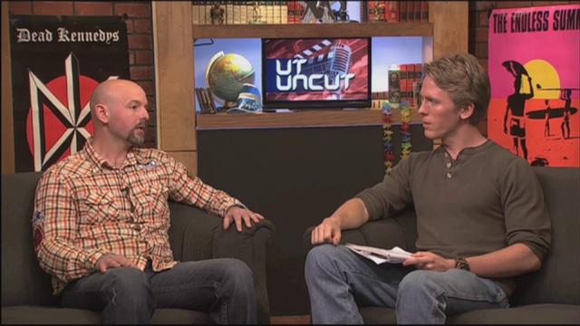 "Live acoustic shit on UTK's TVC Show ""UT Uncut"""