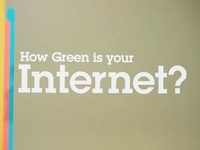 How Green Is Your Internet? [sent 0 times]