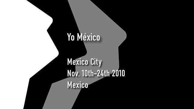 """""""Yo México"""""""