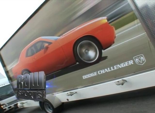 Dodge Challenger Concept Car Unveiling