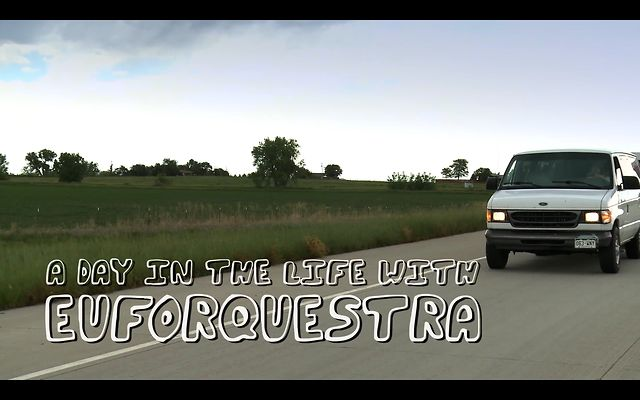 A DAY IN THE LIFE with Euforquestra (by NoCoast.TV