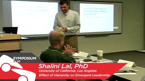 Effect of Hierarchy on Emergent Leadership - Shalini Lal