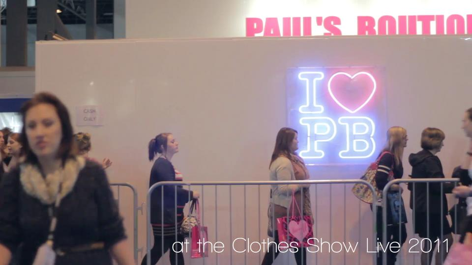 Beautiful Brows @ Clothes Show Live 2011