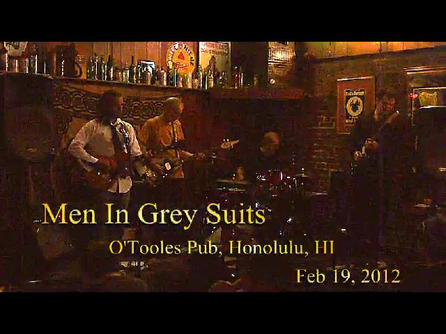 Men In Grey Suits Live at O'Toole's 2-19-2012