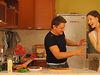 Глеб с рецептом печени и картофельного пюре