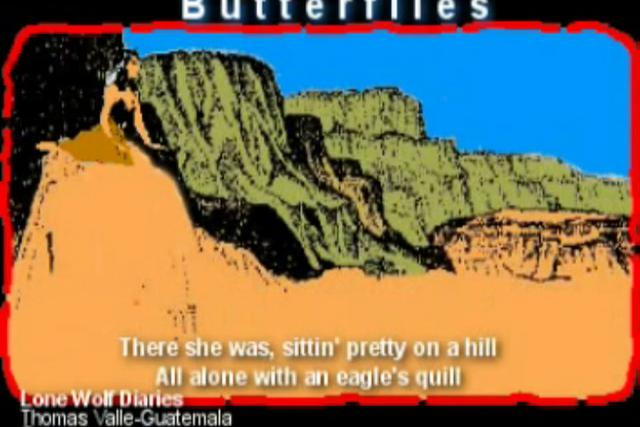 Butterflies (from Lone Wolf Diaries 2001)
