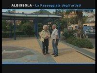[VisioPortulan terre-mer] Albissola, promenade des artistes
