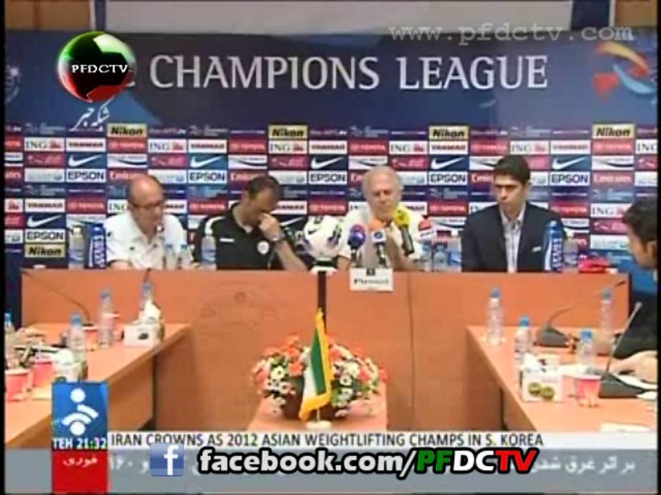 Pre-match Interviews | Perspolis Vs. Al Hilal