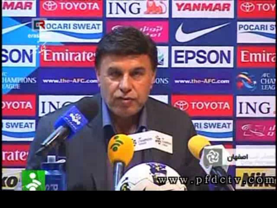 Interviews | Sepahan vs. Esteghlal – AFC