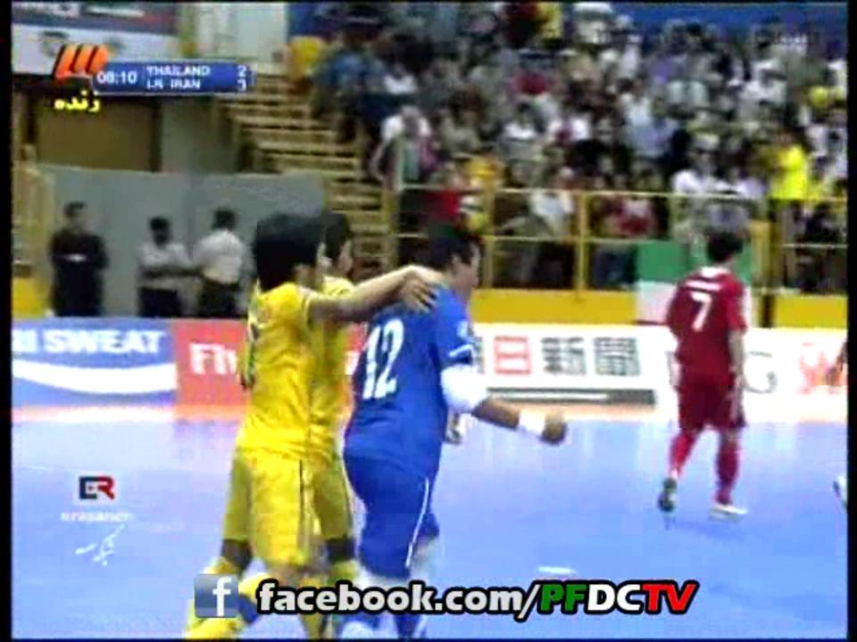 GOALS | AFC Futsal Championship – 2012 | Iran Vs. Thailand