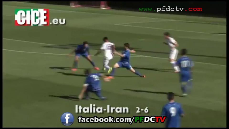 U21 (B) Italy | 2-6 | U21 Iran