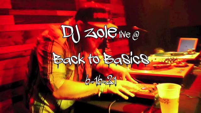 Dj Zole @ Back To Basics Fest