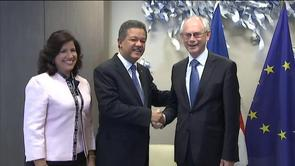 Meeting with the President of the Dominican Republic, Leonel Antonio Fernández Reyna