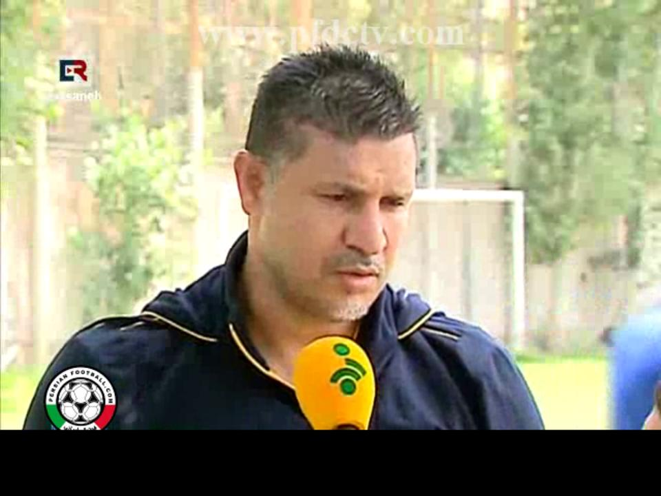 Ali Daei back in Rah Ahan