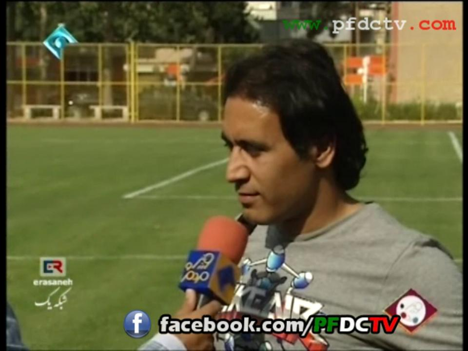 Interview with Perspolis players during Training camp | Pre-Season 12/13