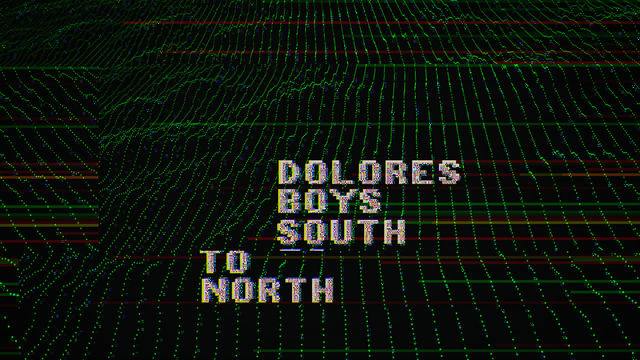 south to north