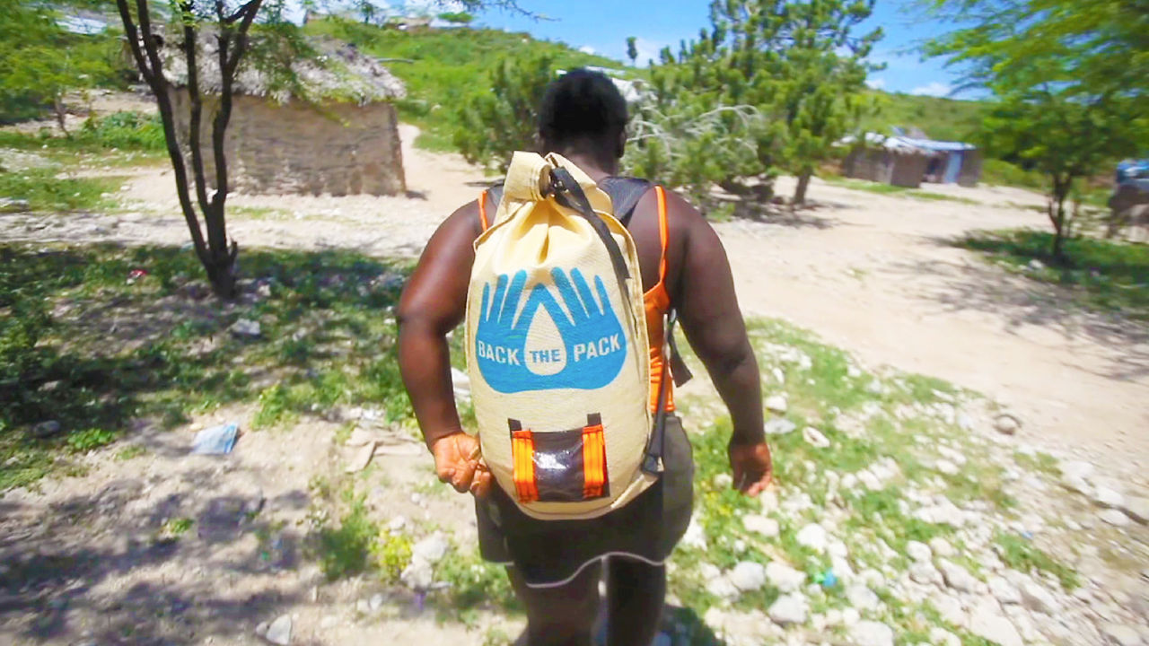 A Safer Way To Carry Water - PackH2O