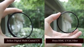Filter Comparison: Zeikos UV Filter vs Hoya UV Filter vs No Filter