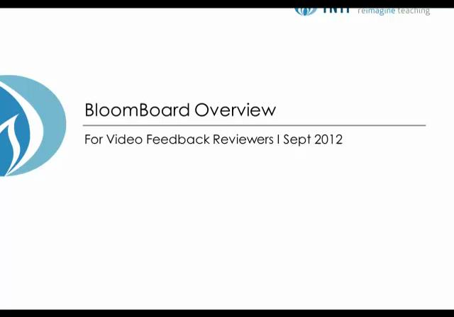 Bloomboard overview by TNTP