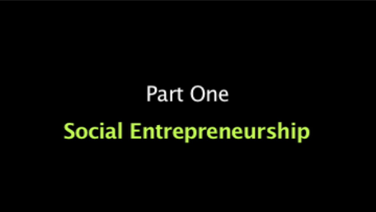 A view on social entrepreneurship by a few social entrepreneurs in Seattle, WA (USA)