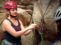 [Rock Climbing Basics 4: Tying a Figure 8 on the Bight and a Clove Hitch]
