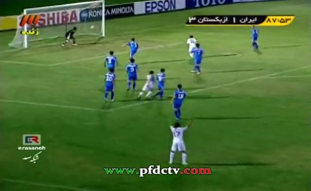 U-16 | Iran Vs. Uzbekistan – FULL HIGHLIGHTS | AFC Championship – 2012