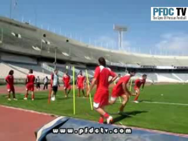 Footage of Iran National Team training
