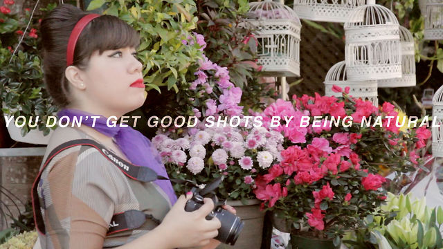 You Don't Get Good Shots by Being Natural