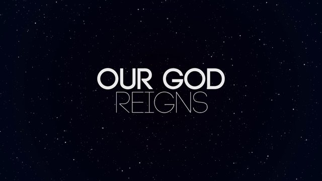 Our God Reigns (Forever!)