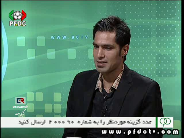 Amir Hossein Sadeghi | Interview on Navad 10/29/2012
