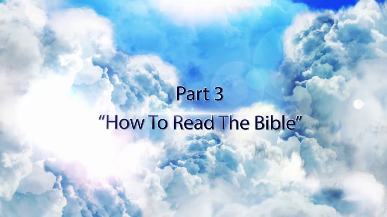 Learning to Live, Reading the Bible