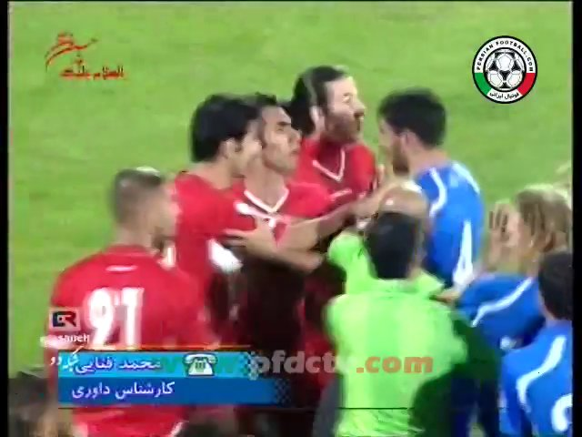 Mohammad Fanaei – about the Referee of the Iran/Uzbekistan match