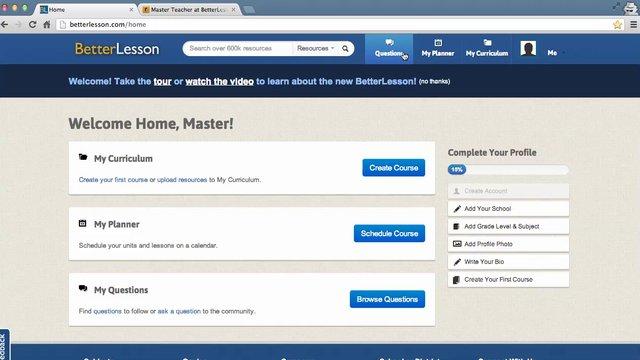 BL Master Teacher application video