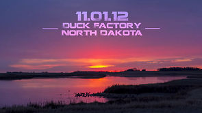 11.01.12 Duck Factory North Dakota