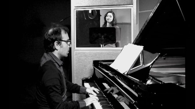 Joanna & Enzo live recording session at the RCM