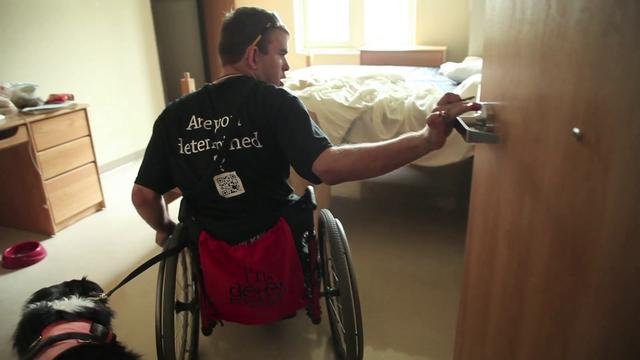 Accessible dorm room