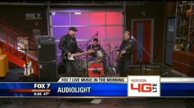 Audiolight Good Day Austin Live TV Appearance
