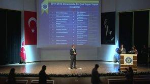 Yıldız Teknik Üniversitesi 2011-2012 Akademik Ödül Töreni_1