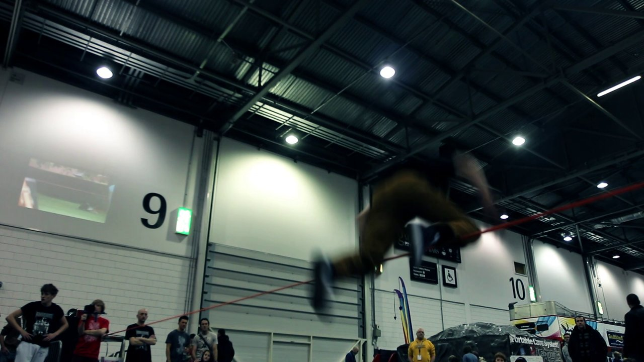 Maverick | Winter Slackline Jam at The Outdoors Show