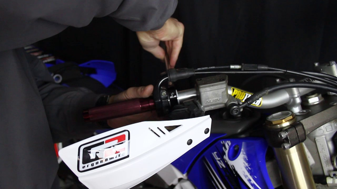 G2 Ergonomics Moto Hand Shield Installation