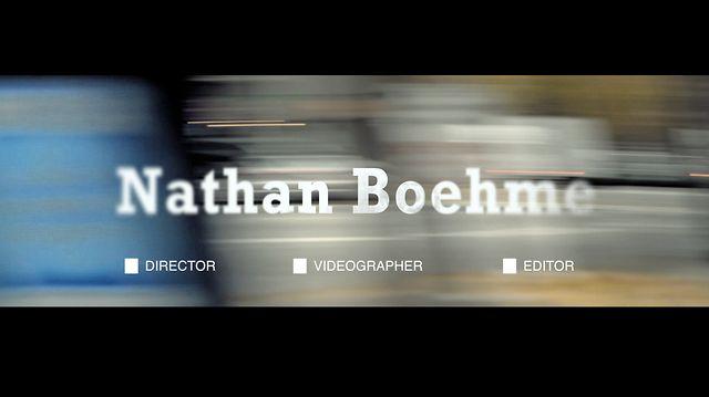 Nathan Boehme - Reel