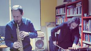 XABIER IRIONDO & GIANNI MIMMO @ Wallace fest - CS Baraonda - jenuary 2013 - Milan (Italy)