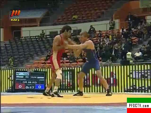WRESTLING – World Cup 2013 | Iran VS. Hungary