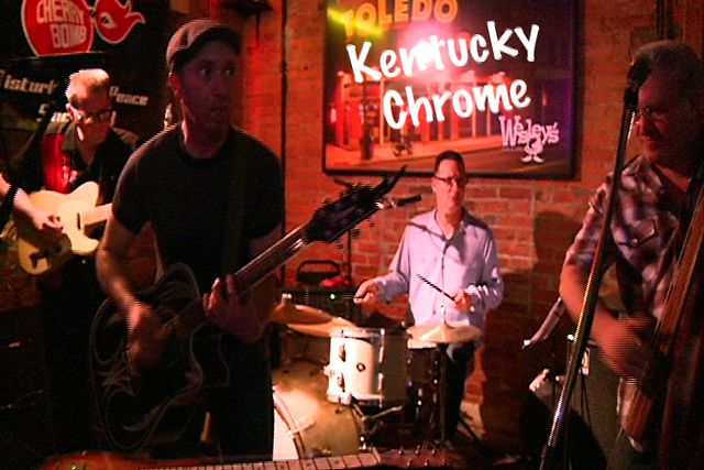 Flying Saucer Rock and Roll by Kentucky Chrome