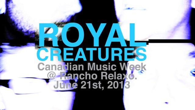 "Royal Creatures ""Asses"" LIVE"