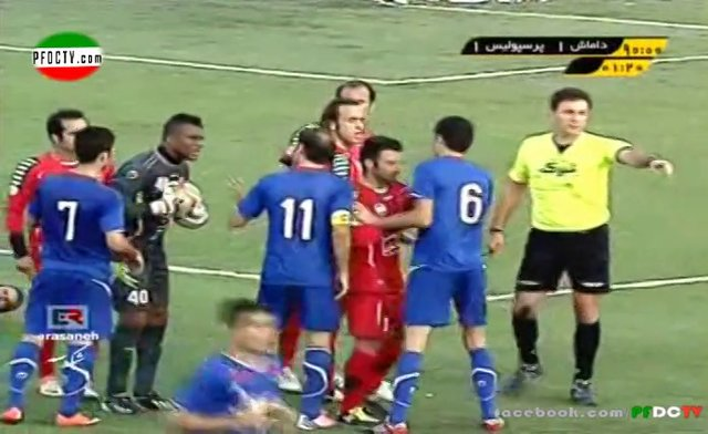 Damash – Perspolis | Hazfi Cup 12/13 – ALL HIGHLIGHTS