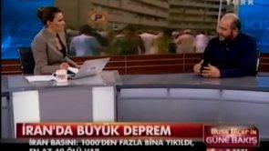 Prof. Dr. Şükrü Ersoy'un, İran depremi hakkındaki değerlendirmeleri.
