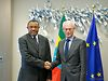 Van Rompuy meets the PM of Ethiopia
